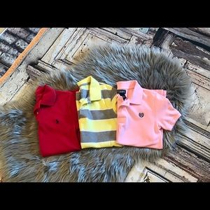 Boys polo shirt bundle of 3 great condition